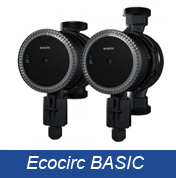 Ecocirc BASIC High efficiency Circulators