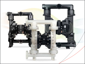 ARO® EXP Series diaphragm pumps include all the benefits of standard air-operating pumps, but with significant additional features and benefits.