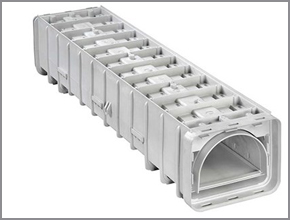 Leopold Type XA™ underdrain gives unprecedented flexibility and faster